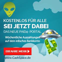cashspace.de - Das abgespacede Paid4- Portal!